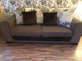 Scs sofas in good condition x2