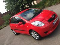 2008 Toyota Yaris 1.3 Petrol red 5 door