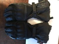 Weise full leather motorbike gloves