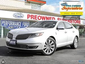 2016 Lincoln MKS EcoBoost **Tech pack/Pano roof**