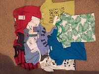 Bundle of kids clothes