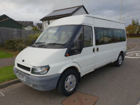 Ford Transit 2.4Di - 14 Seat Minibus - 99,000 Miles - Used By Nursery