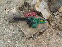 Good working order electric chainsaw