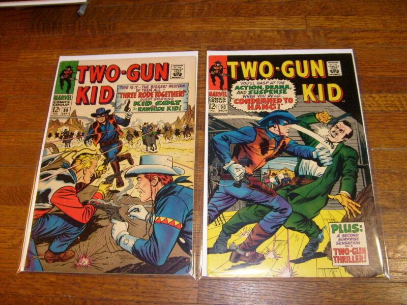 TWO-GUN KID #89 & #90