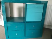 IKEA KALLAX Turquoise Shelving unit