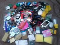 12A Job lot joblot of various items personal, family use or resell at boot sales etc.