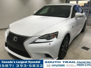 2014 Lexus IS 250 AWD F SPORT - LEATHER, HEATED SEATS