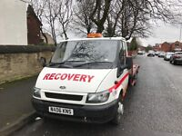 ford transit recovery truck 3.5 ton 2.4 Diesel