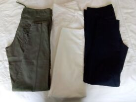 Assorted Ladies Size 10 summer weight trousers. PRICE IS FOR EACH ITEM.