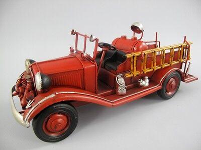 Modellauto* Blechauto * Oldtimer * Feuerwehr * Nostalgie Dekoration * 25 cm lang