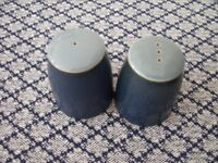 Denby Blue Jetty Salt & Pepper Pots, BRAND NEW WITH LABELS