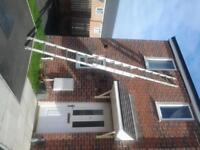 class 3 18ft 4inch double ladder