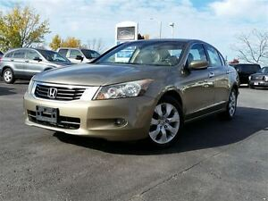 2008 Honda Accord EX-L V6-LUXURY SEDAN