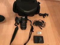 Nikon D3300 DSLR Camera with 18-55mm Lens + Sony Bag