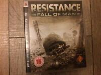 Resistance fall of man ps3 game