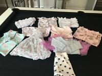 Up to 1 month baby girls bundle