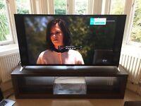 """Natuzzi TV stand cost £1200 will fit up to 75"""" 50"""" 65"""" 70"""" tv ikea dwell Panasonic Sony Lg Samsung"""