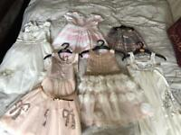 Girls Age 5 Dress & Shoe Bundle Next, Monsoon & Mayoral