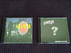 Sham 69 cds