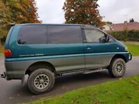 Mitsubishi Delica Space Gear 8 seater 4x4 - 2.8 Turbo Diesel - Long MOT - Top Spec -Lots of history