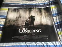 The Conjuring Cinema Poster
