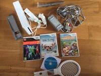 Nintendo Wii Bundle with Games
