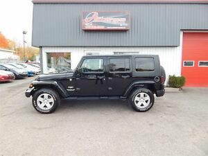 2010 Jeep WRANGLER UNLIMITED Sahara AUTOMATIQUE 2 TOIT FULL LOAD