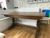 Antique Old Charm Dining Table