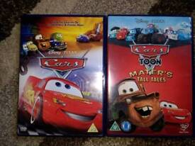 Cars dvds