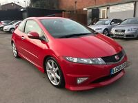 HONDA CIVIC GT TYPE R FULL SERVICE 2 OWNER 2 KEYS FINANCE RED