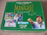 Terry Venables The Manager football board game.