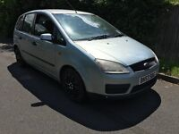 Ford Focus C-Max LX 1798cc Petrol 5 speed manual 5 door hatchback 53 Plate 26/09/2003 Green