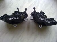 gsxr 600 750 k1 2 3 pair front calipers.