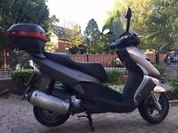 2007 APRILIA LEONARDO 300 BIG TOURING SCOOTER ONLY 3986 MILES ,MOTD FINANCE AVAILABLE