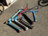 Job lot scooters and parts