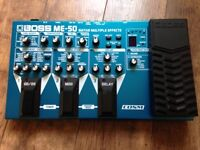 Boss ME-50 guitar multi effects pedal. Excellent condition with power supply