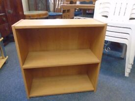 small pine look shelf stand.