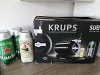 The Sub Krupps Beer Machine with 3 Beerwulf Torps Kegs