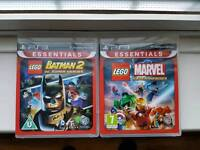 Like NEW LEGO Marvel Super Heroes and LEGO Batman 2 DC Super Heroes - PS3 games
