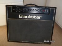 ** MINT BLACKSTAR HT 40 CLUB COMBO and FOOTSWITCH **