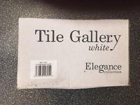 White Ceramic Wall Tiles 150 x 150mm