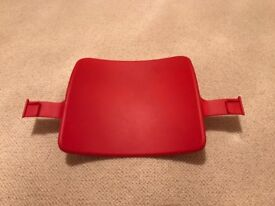 Stokke Tripp Trapp baby seat back only - red