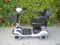 FREERIDER MINI RANGER lightweight mobility scooter, 18 stone useer weight