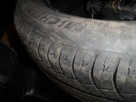 """Michelin energy tyre 16"""" 205/55/16 nearly new"""