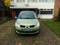 renault scenic 2008 6 speed m.o.t next year