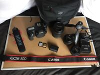 CANON EOS 80D FULL PACKAGE CASEY NEISTAT CAMERA DSLR PERFECT CONDITION