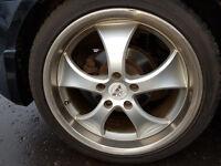 Antera alloy wheels