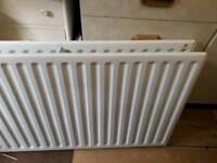 Double radiator- almost new