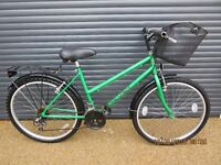 """LADIES TOWN / SHOPPING BIKE IN VERY GOOD USED CONDITION... (18"""" / 46cm. FRAME).."""