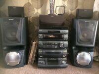 Sony LBT-XB80AV Hi-FI stereo ststem